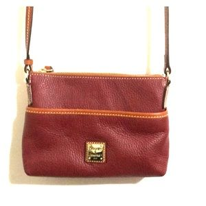 Dooney and Bourke Red crossbody bag